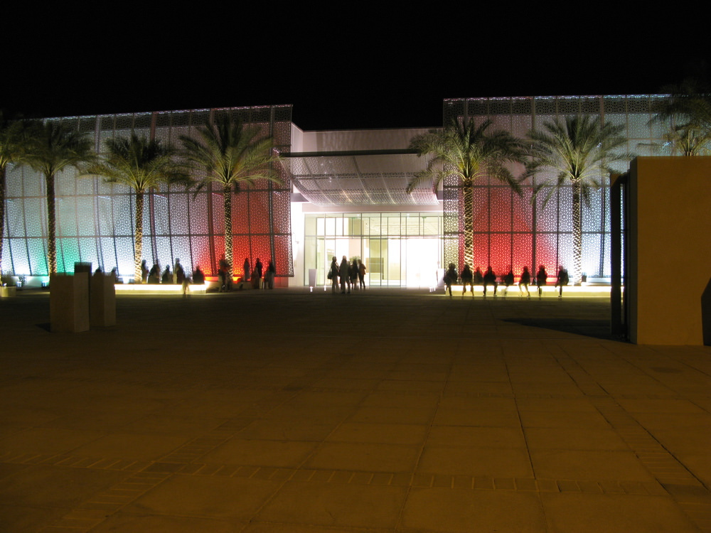 Entrance to the Manarat Al Saadiyat, Art Dubai 21–24 March 2012 | © Courtesy of latitudes-flickr